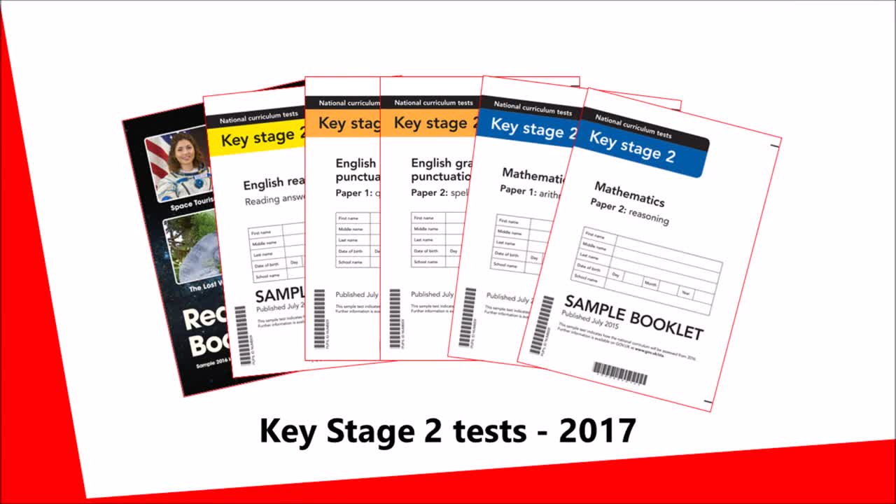 past sats english papers ks2